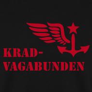 Motiv ~ Pulli Männer: Logo + Schriftzug (roter Aufdruck)
