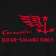 Motiv ~ FERNWEH-Pulli Männer (roter Aufdruck)