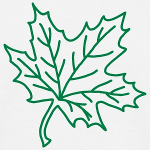Maple Leaf - tree T-Shirts - Men's T-Shirt