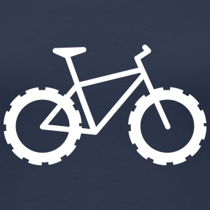 Knarly Fat Bike T-Shirts - Women's Premium T-Shirt