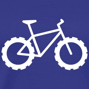 Knarly Fat Bike T-Shirts - Men's Premium T-Shirt
