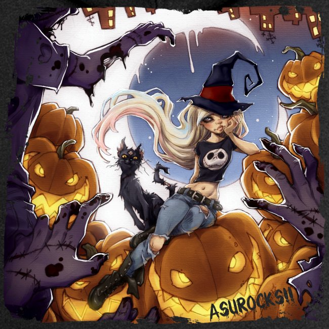 RoRo Halloween Kapuzenjacke