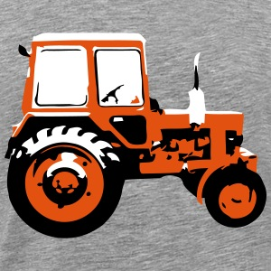 Tractor - the classic soviet MTZ - Men's Premium T-Shirt