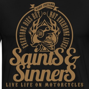 Kabes Saints & Sinners - Men's Premium T-Shirt