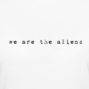 aliens T-Shirts - Frauen Bio-T-Shirt