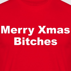 Merry Xmas T-shirts - Herre-T-shirt