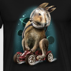 Sort rabbit T-shirts - Herre premium T-shirt