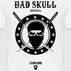 t-Shirt Bad skull original (NINJA) - T-shirt Homme