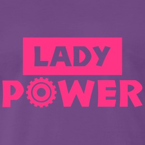 lady power T-Shirts - Männer Premium T-Shirt
