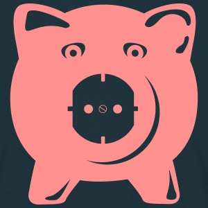 Outlet Pig  T-shirts - Herre-T-shirt