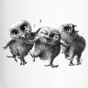 three crazy owls - Kubek termiczny