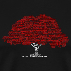 Tree Of Words T-Shirts - Männer Premium T-Shirt