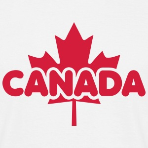 CANADA Maple Leaf Flag Design T-Shirt RW - T-skjorte for menn