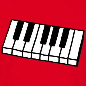Piano - Keyboard - V2 T-Shirts - Men's T-Shirt