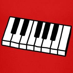 Piano - Keyboard - V2 Shirts - Teenage Premium T-Shirt