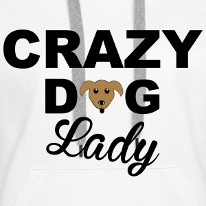 Dog Lady Hoodies & Sweatshirts - Women's Premium Hoodie