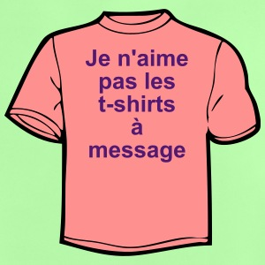 T-shirt à messages Tee shirts - T-shirt Bébé