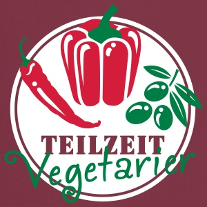 Teilzeit Vegetarier  Aprons - Cooking Apron