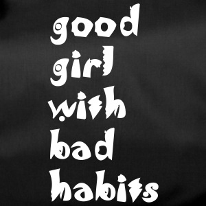 sports bag good girl with bad habits - Duffel Bag