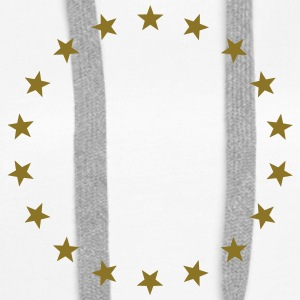 Star wreath, gold, winner, hero, award, best Hoodies & Sweatshirts - Women's Premium Hoodie