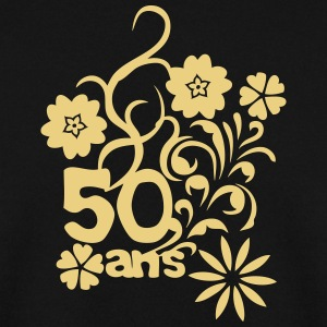 50 ans fleur anniversaire Sweat-shirts - Sweat-shirt Homme
