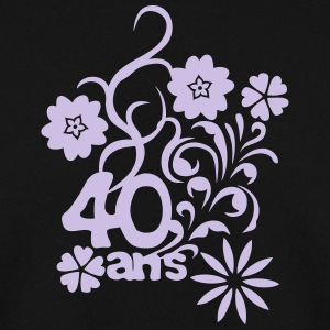 40 ans fleur anniversaire Sweat-shirts - Sweat-shirt Homme
