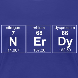 Nerdy Periodic Element T-Shirts - Women's Premium T-Shirt