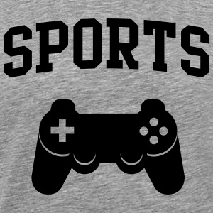 Sports Game Controller T-Shirts - Men's Premium T-Shirt
