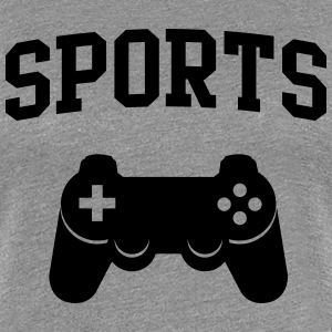 Sports Game Controller T-Shirts - Women's Premium T-Shirt