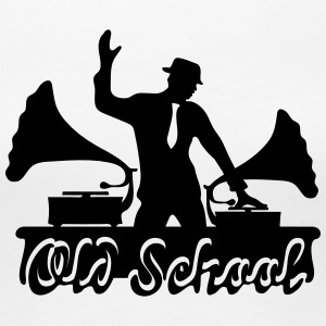 DJ Old School, Gramophone, swing, music, dance T-skjorter - Premium T-skjorte for kvinner