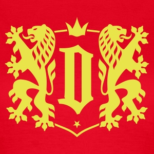 Dresden City - Double Lion Wappen T-Shirts - Frauen T-Shirt