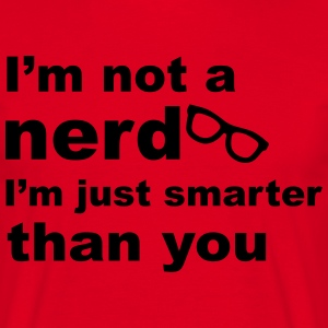 Nerd Glasses T-Shirts - Men's T-Shirt