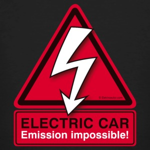 ELECTRIC CAR - Emission impossible! Herren - Männer Bio-T-Shirt