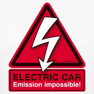 ELECTRIC CAR - Emission impossible! (Damen) - Frauen Bio-T-Shirt