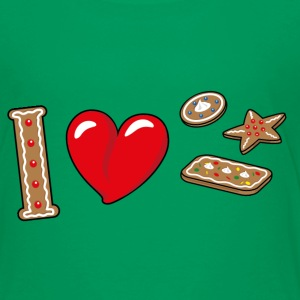I love cookies T-Shirts - Kinder Premium T-Shirt
