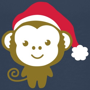 monkey_christmas Skjorter - Premium T-skjorte for barn