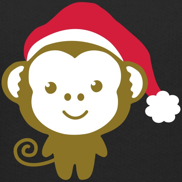monkey_christmas Sweats - Pull à capuche Premium Enfant