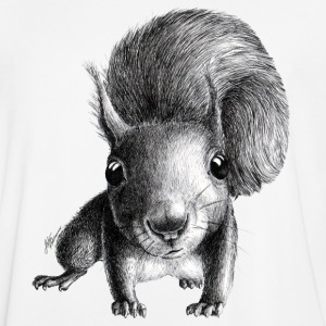 curious squirrel - Men's Football Jersey
