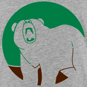 Wildtiere: der Grizzlybär Shirts - Teenage Premium T-Shirt