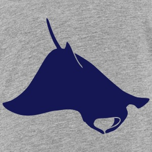Wildtiere: der Mantarochen T-Shirts - Teenager Premium T-Shirt