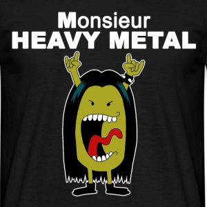 Monsieur heavy metal Tee shirts - T-shirt Homme
