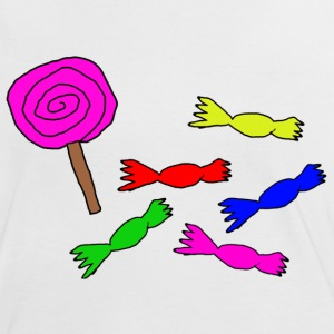 lolly,Bonbons,Candy - Frauen Kontrast-T-Shirt