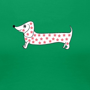 funny dog stars - Women's Premium T-Shirt