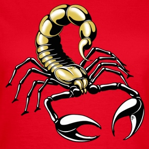 scorpion - gold - yellow - Women's T-Shirt