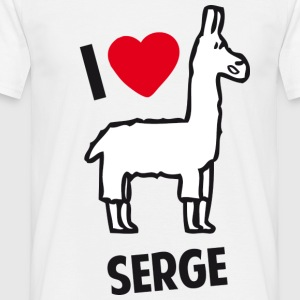I love Serge ! - T-shirt Homme