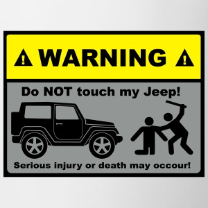 Do not touch my Jeep! - Tasse