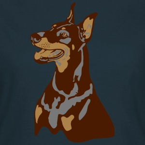 Dobermann Pinscher Head T-shirts - Vrouwen T-shirt