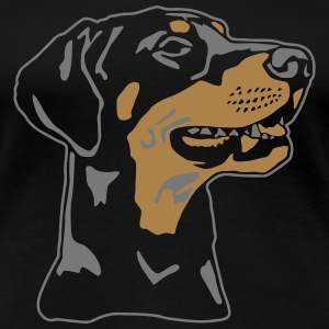 Dobermann Pinscher T-Shirts - Frauen Premium T-Shirt