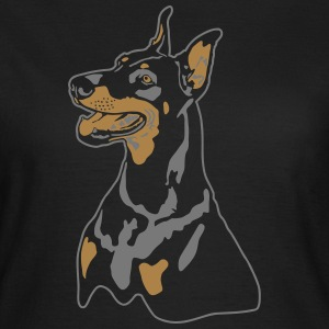 Dobermann Pinscher Head T-Shirts - Frauen T-Shirt