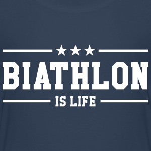 Biathlon is life Tee shirts - T-shirt Premium Enfant